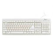 Клавиатура GEMBIRD KB-8300-R PS/2, белая