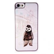 Чехол для iPhone 5/5S, Cool Panda, SmartBuy (SBC-3D Cool Panda)