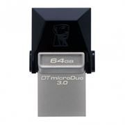 64Gb Kingston DataTraveler microDuo, совместим с Android, microUSB/USB 3.0 (DTDUO3/64GB)