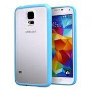 Чехол для Samsung Galaxy S5, голубой, Soft Slim, Smartbuy (SBC-Soft Slim S5-B)