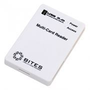 Карт-ридер внешний USB 5Bites RE2-101WH White USB2.0