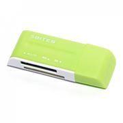 Карт-ридер внешний USB 5Bites RE2-102GR Green USB2.0