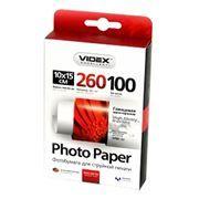 Бумага A6 VIDEX глянцевая 260 г/м, 10x15 см, 100 листов (HGA6-260/100)