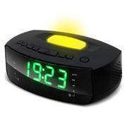 Радиочасы RITMIX RRC-1215, FM, будильник, лампа подсветки, 220В