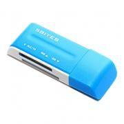 Карт-ридер внешний USB 5Bites RE2-102BL Blue USB2.0