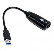 Сетевая карта USB3.0 - RJ45 1 Гбит/с, 0.1 м, черный, 5bites (UA3-45-01BK)