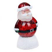 Сувенир ORIENT NY6005 Дед Мороз, многоцветная подсветка, питание от USB