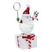 Держатель для фотографий и визиток ORIENT NY6001M Дед Мороз с подсветкой и музыкой
