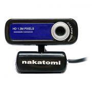 Веб-камера Nakatomi WC-E1300 Black-Blue, 1.3 MP