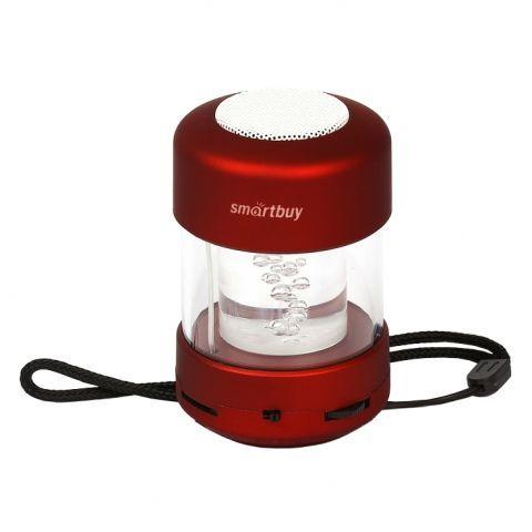 Колонка 1.0 SmartBuy CANDY PUNK с MP3 плеером и FM-радио, красная (SBS-1020)
