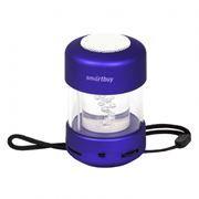 Колонка 1.0 SmartBuy CANDY PUNK с MP3 плеером и FM-радио, синяя (SBS-1030)