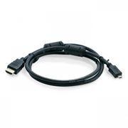 Кабель HDMI micro - HDMI 19M/micro D, 1.8 м, черный, Sven