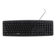 Клавиатура GEMBIRD KB-8320U-BL, черная, USB