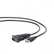 Адаптер USB Am - DB9M/RS232, 1.5 м, Gembird (UAS-DB9M-01)