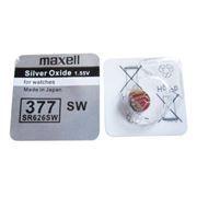 Батарейка Maxell SR626SW 377 1.5V, 1 шт, блистер