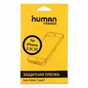 Пленка защитная для iPhone 5/5S/5C, глянцевая, CBR Human Friends