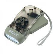 Фонарь Perfeo LT-008 электродинамический, черный, пластик, светодиодный, 40LM, 1W