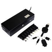 Адаптер питания для ноутбука Energenie EG-MC-003 150W, USB