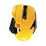 Мышь игровая 5bites Camper GM20YE, 3200dpi, желтая