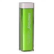 Зарядное устройство SmartBuy EZ-BAT с аккумулятором 2000 мА/ч, зеленое (SBPB-1030)