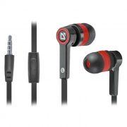 Гарнитура DEFENDER Pulse-420 для мобильных устройств, черно-красная (63424)
