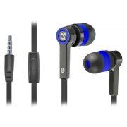 Гарнитура DEFENDER Pulse-420 для мобильных устройств, черно-синяя (63423)