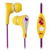 Гарнитура RITMIX RH-012M Girls для мобильных устройств, желтая