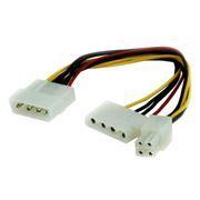 Переходник питания Molex - Molex + ATX 4 pin, Gembird (CC-PSU-4)