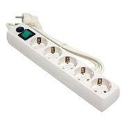 Сетевой фильтр ГАРНИЗОН EHLW-5 белый, 1.4 метра, 5 розеток