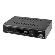 Цифровой телевизионный ресивер DVB-T2 PERFEO PF-168-1-IN с HD-медиаплеером, внутренний блок питания