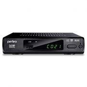 Цифровой телевизионный ресивер DVB-T2 PERFEO PF-168-3-IN с HD-медиаплеером, внутренний блок питания