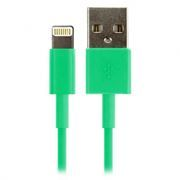 Кабель USB 2.0 Am=>Apple 8 pin Lightning, 1.2 м, зеленый, SmartBuy (iK-512c green)