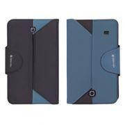 Чехол для планшета 8 Samsung Galaxy Tab 4, синий/черный, Defender Double case (26074)