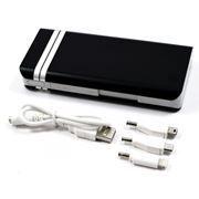 Зарядное устройство KS-is KS-230, черное, фонарик, 20000 мА/ч, 2.1A USB