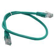 Кабель патч-корд UTP 5е категории 0.5 м, зеленый