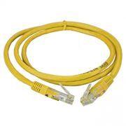 Кабель патч-корд UTP 5е категории 1 м, желтый