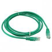 Кабель патч-корд UTP 5е категории 1 м, зеленый