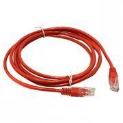 Кабель патч-корд UTP 5е категории 1 м, красный