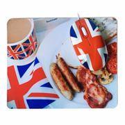 Мышь CBR English Breakfast USB с ковриком