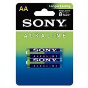 Батарейка AA SONY LR6-2BL Alkaline, 2шт, блистер