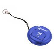 Карт-ридер внешний USB Gembird CR-107, синий