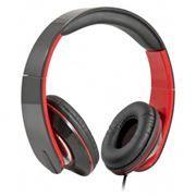 Гарнитура DEFENDER Accord 169 для мобильных устройств и ПК, черно-красная (63169)