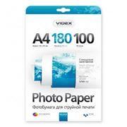 Бумага A4 VIDEX глянцевая 180 г/м, 100 листов (HGA4-180/100)