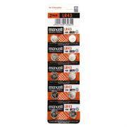 Батарейка Maxell LR43 AG12 1.5V, 10 шт, блистер