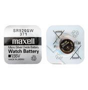 Батарейка Maxell SR920SW 371 1.55V, 1 шт, блистер