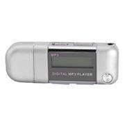 MP3 плеер 8Gb Perfeo Music Strong, серебристый (VI-M010-8GB Silver)