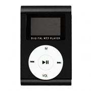 MP3 плеер Perfeo Music Clip Titanium Display, черный (VI-M001-Display Black)