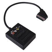 Адаптер SCART-> 2xSCART, 3xRCA + S-Video с перекл. Вход/Выход, Rexant (17-1058)