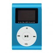 MP3 плеер Perfeo Music Clip Titanium Display, голубой (VI-M001-Display Blue)