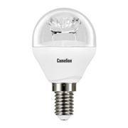 Светодиодная (LED) лампа Camelion G45 6.5W/3000/E14/прозрачная колба (LED6.5-G45-CL/830/E14)